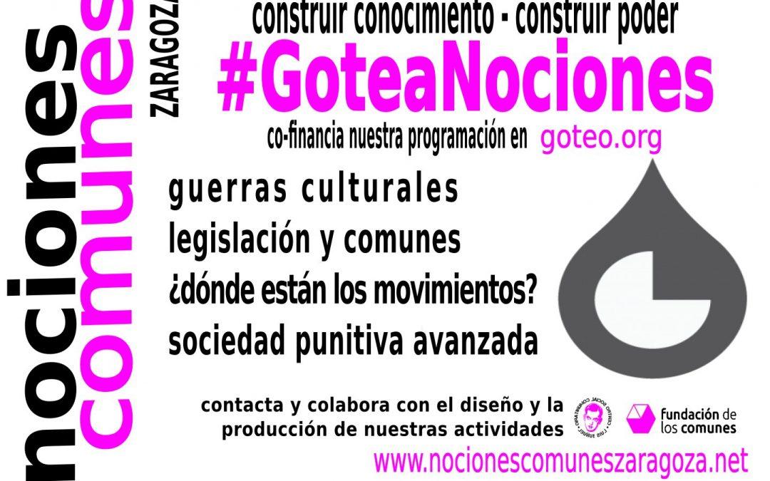#GoteaNociones