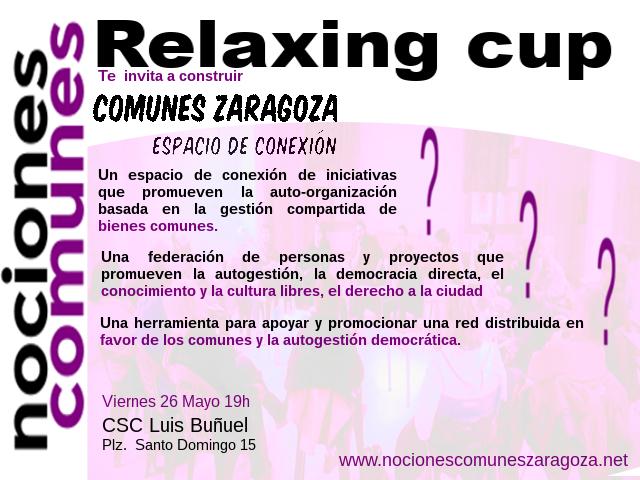Relaxing Cup Comunes Zaragoza