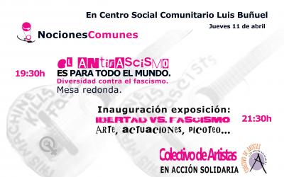 Libertad Vs Fascismo – Exposición.